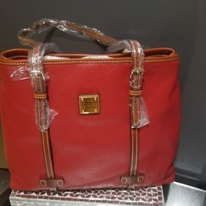 Dooney and  Burke  pebbles leather bag